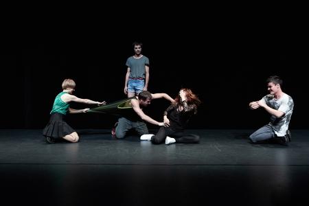 Jefta van Dinther  bot eine beeindruckende Uraufführung in Wien.  (Foto: © Eva Würdinger)