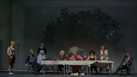 Peter Turrini im Burgtheater Wien - Bei Einbruch der Dunkelheit
