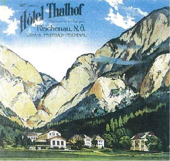 Thalhof Reichenau Werbung