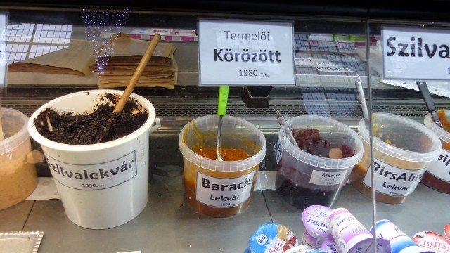 Powidl, einkochte Marillen und Kirschen und Hagebuttenmark (c) European Cultural News