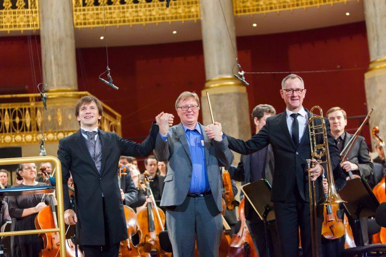 Cornelius Meister, Georg Friedrich Haas, Mike Svoboda (c) Markus Sepperer