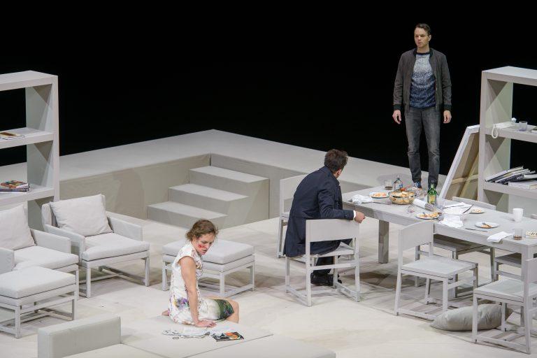 Katharina Lorenz (Emily), Fabian Krüger (Amir), Christoph Radakovits (Abe) (c) Georg Soulek